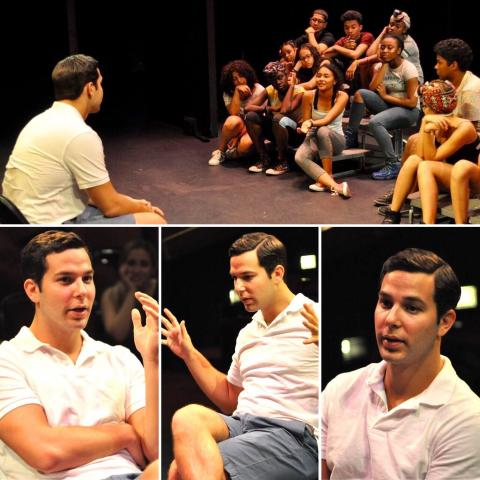 Acting Workshop taught by Applause Alum Skylar Astin