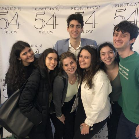 Applause Students perform at 54 Below