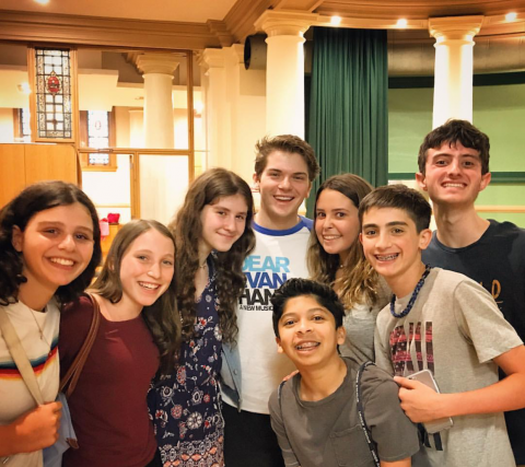 Musical Theater Workshop with Dear Evan Hansen actor Colton Ryan