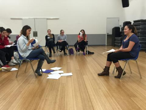 Acting Workshop with Applause Alum Sas Goldberg