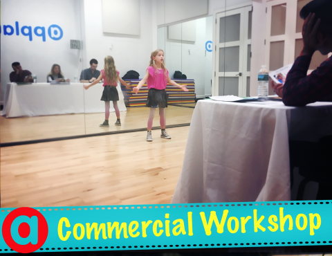 Commercial Acting Workshop presentation for Agents & Casting Directors
